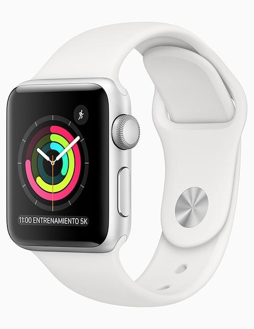 c5f07804c03 Apple Watch Series 3 38 mm plata. Precio Lista: $ 6,499.00
