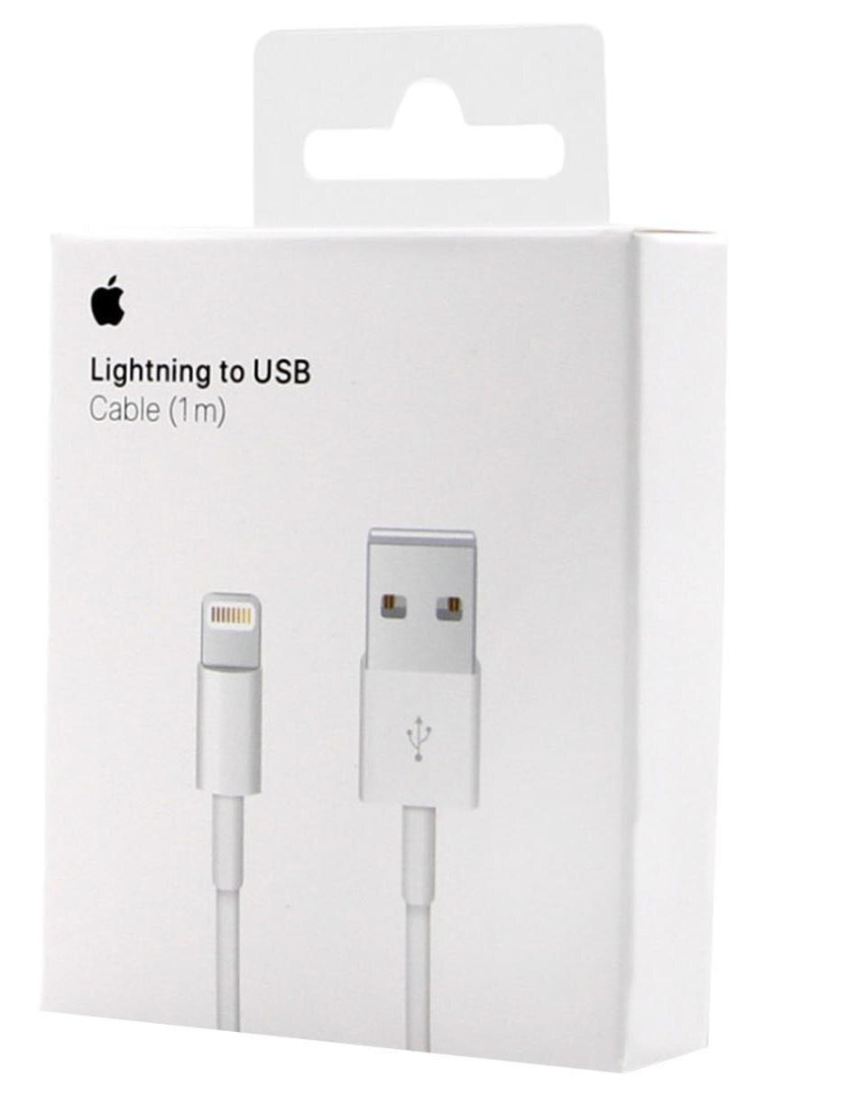 470c5849ffe COMPARTE ESTE ARTÍCULO POR EMAIL. Cable USB Lightning Apple blanco